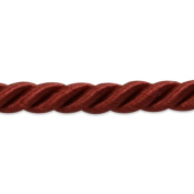 Expo International 20-Yard Charlotte Twisted Cord Trim Embellishment, 0.5cm , Cranberry