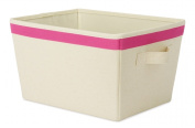 Whitmor Mfg. 6241-1501-PINK 25cm . L X 33cm . W X 19cm . H Small Rectangle Tote