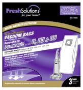 Elco Laboratories 70306 Panasonic U Style Vacuum Bag 3 Pack