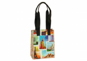 Joann Marie Designs P2LB2TRAV Poly Lrg. Lunch Bag - Travel Pack of 6