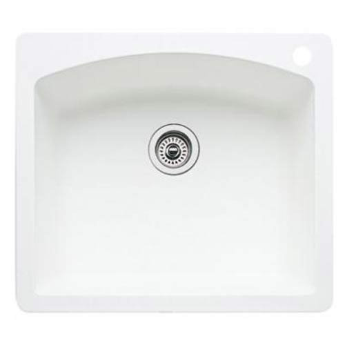 Blanco 440211 diamond single bowl silgranit ii drop in - Kitchen sink saying ...