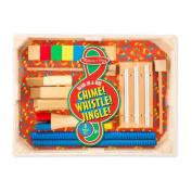 Melissa & Doug Band-in-a-Box Chime! Whistle! Jingle!