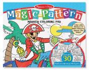Magic-Patterns Coloring Pad - Blue Magic-Patterns Coloring Pad - Blue