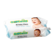 Babywise Unscented Wipes 80 Pack