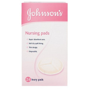 Johnson's Nursing Pads Ivory 24 Pack