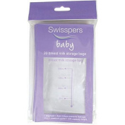 Swisspers Breast Milk Storage Bags 20 Pack