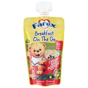 Farex Breakfast On The Go Creamy Baby Porridge Pouch 120g