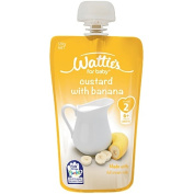 Wattie's Custard with Banana Pouch 120g