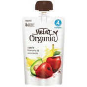 Wattie's Heinz Organic Apple Banana Avocado Pouch 120g