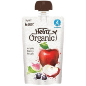 Wattie's Heinz Organic Apple Berry Blush Pouch 120g