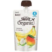 Wattie's Heinz Organic Banana Mango Pouch 120g