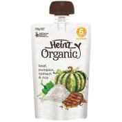 Wattie's Heinz Organic Beef Pumpkin Spinach & Rice Pouch 120g