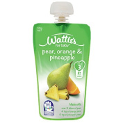 Wattie's Watties Pear Orange and Pineapple Pouch 120g