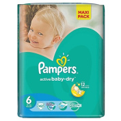 Pampers Nappies Size 6 42 Pack