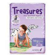 Treasures Bulk Junior Nappies Over 16kg 30 Pack