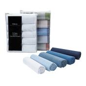 Accessories Men's Essentials White Handkerchiefs 5 Pack