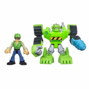 Playskool Heroes Transformers Rescue Bots Construction & Graham Burns Figure Pack