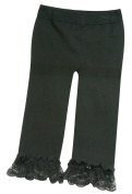 Stephan Baby Little Black Dress Collection Legging-Style Nappy Cover, 6-12 Months