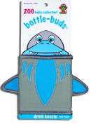 KidKusion Bottle-Bud Koozie, Grey Shark