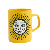 ORE Originals Living Goods Cuppa Colour Mug, Yellow Sun