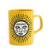 ORE Originals Living Goods Cuppa Colour Mug, Yellow Sun