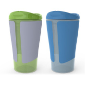 BPA-Free Grow with Me 300ml Big Kid Spoutless Cup, 2 Count
