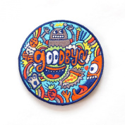 Goodbyn Embroidered Patch, Robot