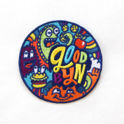 Goodbyn Embroidered Patch, Monster