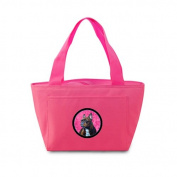 Caroline's Treasures LH9385PK French Bulldog Lunch or Doggie Bag, Large, Pink