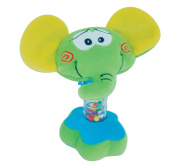 Petite Creations Rattler Toy, Elephant