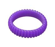 KidKusion Gummi Teething Bracelet Cable, Purple