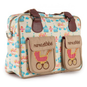 Pink Lining Mama Et Bebe Nappy Bag, Birdcage