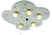 Niermann Standby Ceiling Lamp LED, Light Blue
