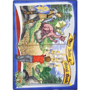 Joy Carpets Kid Essentials Language & Literacy Step Into A Good Book Rug, Multicoloured, 0.9m x 1.5m