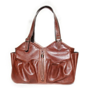 Mia Bossi Caryn Nappy Bag, Chocolate