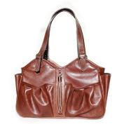 Mia Bossi Caryn Nappy Bag, Chocolate
