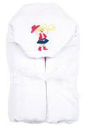 AM PM Kids! Hooded Towel, Cowgirl, 0-2T