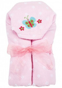 AM PM Kids! Hooded Towel, Butterfly, 0-2T