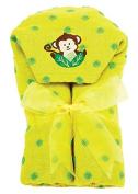 AM PM Kids! Hooded Towel, Monkey, 0-2T