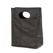 FLUF Ty.Paper Lunch Bag, Black