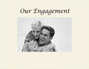 Havoc Gifts 3056-SO Our Engagement Engraved Photo Frame, Small, Oyster