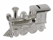 Stephan Baby Keepsake Silver Plated Train Bank