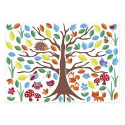 JoJo Maman Bebe Wall Stickers, Woodland Tree