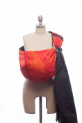 Rockin' Baby Top of The World Sling, Red/Orange/Charcoal