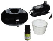 Black MIZU Ultrasonic Aroma Diffuser with 1 Free 10ML Therapeutic Essential Oil