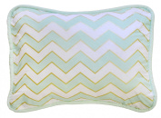 New Arrivals Accent Pillow, Gold/White/Green