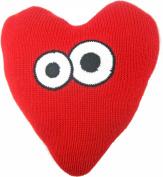 Estella Nursery Decor Pillow, Heart with Eyes
