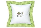 Jacaranda Living Baby Pillow, Lucky Charm Elephant