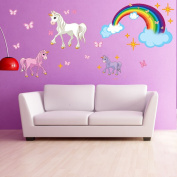 Style and Apply Unicorn Wall Decal Set