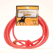 M & F Western 50828 Kid's Little Outlaw Rope Red One Size